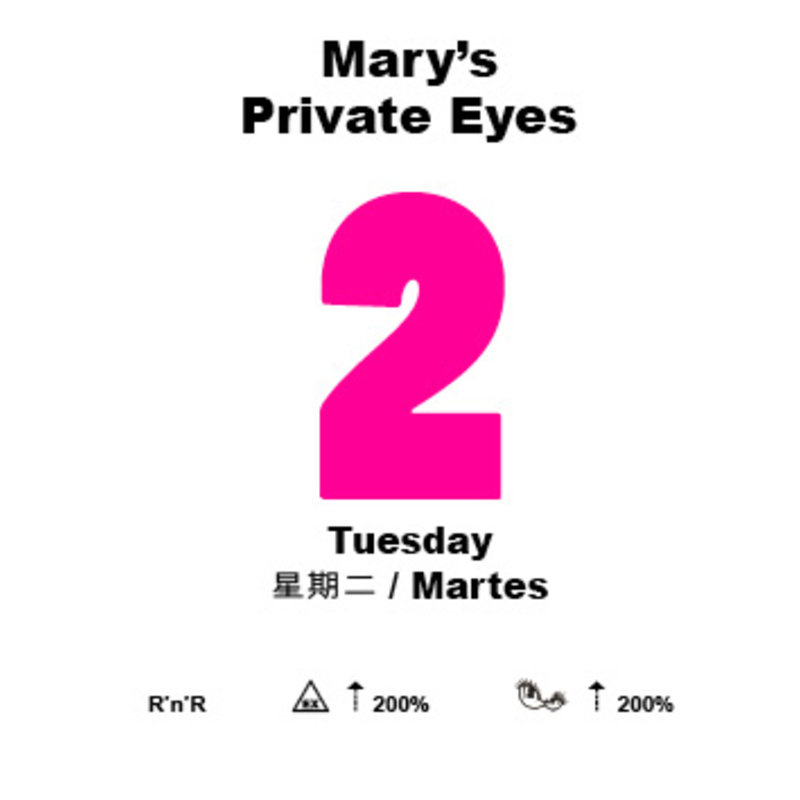 Marys tuesday cover