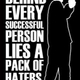 Behind hater