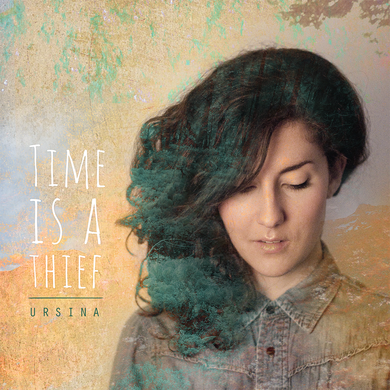 Ursina   time is a thief ep   cover