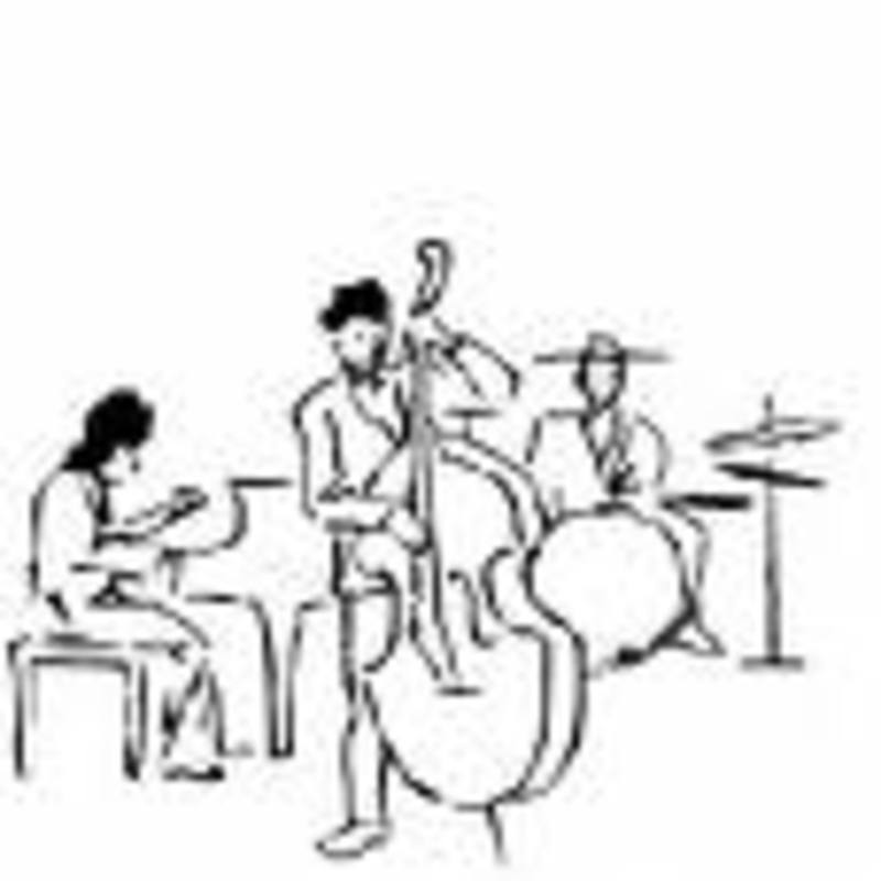 Trio jazz dessin
