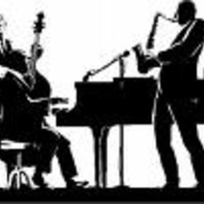 Jazz band silhouette