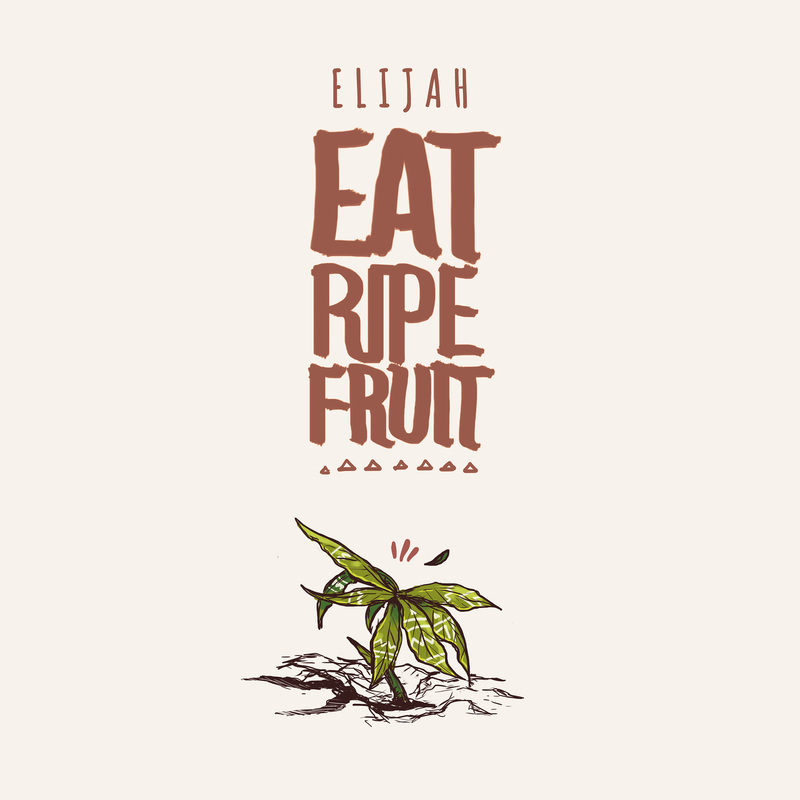 Eat ripe fruit cover digital