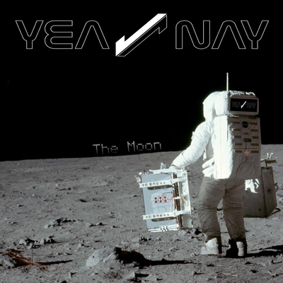 Yea nay the moon copertina