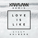 Lilly ahlberg love is like karavann remix  cover
