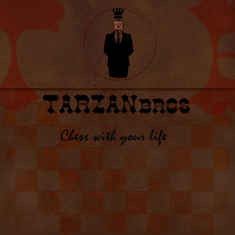 Tarzanbros chess with your life cover