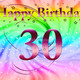 Depositphotos 5451361 stock photo happy birthday 30 year