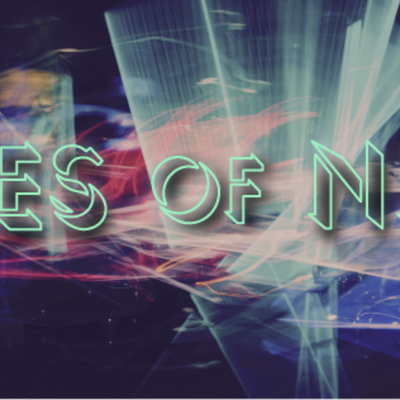 Babes of neon banner