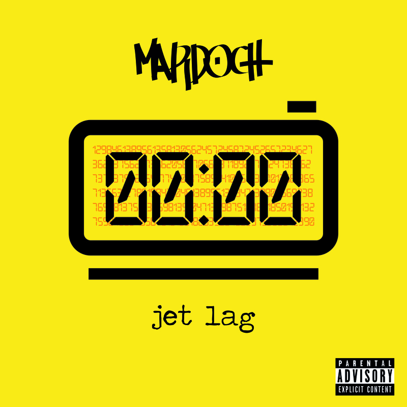 Mardoch jet lag cover front
