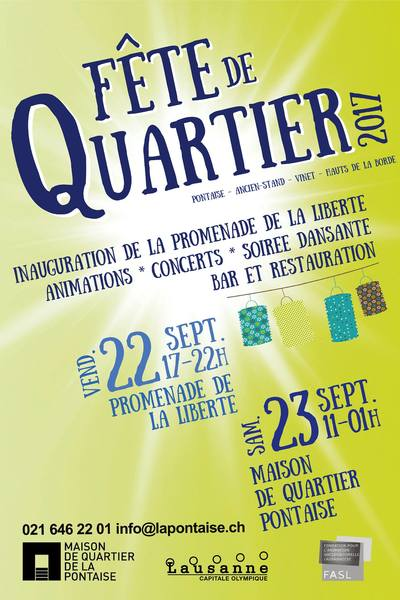 Fete pontaise flyer