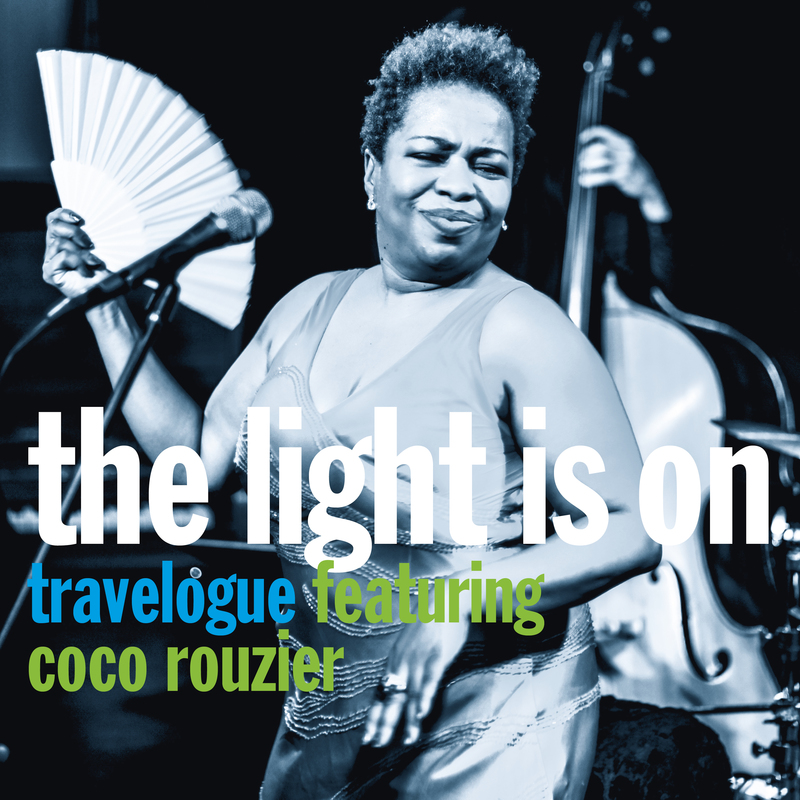 Travelogue the light is on cover quadrat