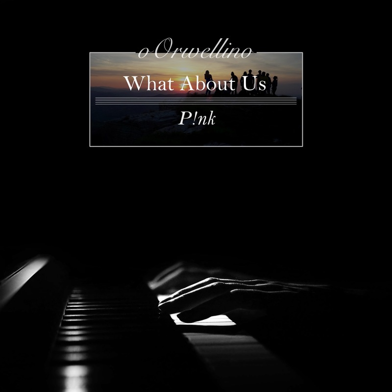 What about us p nk piano cover by oorwellino